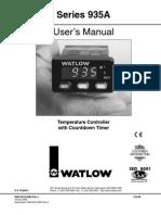 Watlow 935A