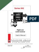 Watlow 945