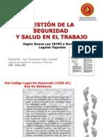 Gestion de La S&ST - Ley 29783