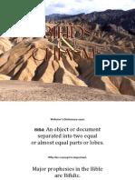 Ellis Skolfield's Teaching Outline 09 Bifids & Chiasms