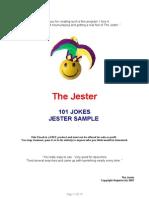 The Jester's Joke Ebook