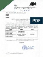 Oficio Múltiple N°235-2012-DREJ-COPAREJ