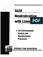 B216 Acid Neutralization With Lime