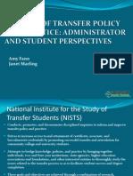 NISTS TX Transfer Policywebinar6 28 2012
