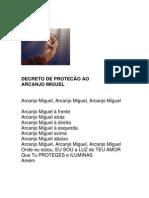 Arcanjo Miguel Simples