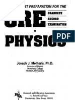 Physics GRE