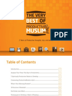 Productive Muslim eBook