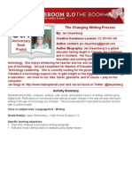 Jen Deyenberg - The Changing Writing Process