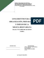 T3 LINEAMIENTOS PARA LA ORGANIZACIÓN
