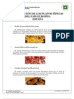 8 ESPAÑA_Platos Tipicos