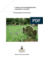 Falmouth Jewish and Congregationalist Cemeteries in Cornwall