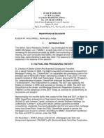 GMAC v Weisband Bankruptcy Court Arizona 3-29-2010