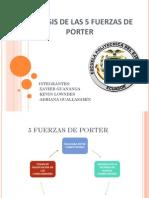 5 Fuerzas de Porter Presentacion