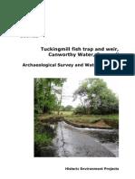 Tuckingmill Fish Trap & Weir in Cornwall
