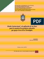 El Diseño Instruccional y su aplicación para productos educativos tecnológicos (Curso en Línea)
