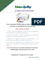Dicas Para Teste Hp f4280