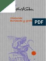Maldororediciones Kubin Historias Burlescas y Grotescas