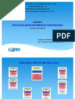 Patologia em Revestimentos com Pinturas - Apresentação - 06062012
