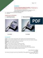 NEC Dterm Series I UserGuide