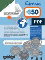 350 Science Factsheet-SPANISH