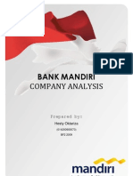 Company Analysis of Bank Mandiri