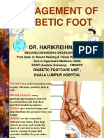 Dr Harikrishna - Management of Diabetic Foot