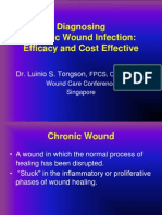 Dr Tongson - Diagnosing Chronic Wound Infection Efficacy and Cost Effective
