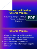 Dr Tongson - Treatment and Healing of Chronic Wounds