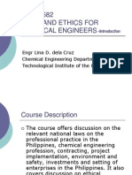 CHEP 582 Chemical Enginering Ethics PArt 1
