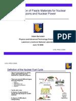02.Prod Fissile Mat Nuc Weap Nuc Power