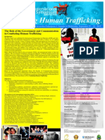 Simposium Internasional - COMBATING HUMAN TRAFFICKING