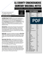 Game Notes Southland 062912