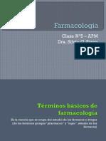 Farmacología I - APM - Clase N°5-6