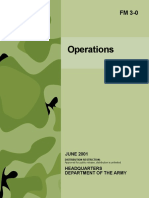 ARMY Operations FM 3-0 2001 313 Pages