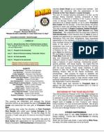 Moraga Rotary Newsletter -- June26 2012