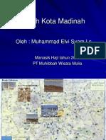 Ziarah Kota Madinah