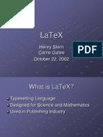 LaTeX2e