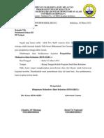 Surat Permohonan Dana Mading