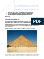 Last Secret Door of Great Pyramid 'to Be Opened in 2012', Says British Company