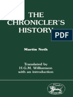 The Chronicler's History Noth
