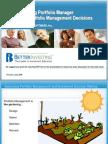 Bi Portfolio Manager Improving Decisions