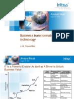 Business Transformation Through Technology