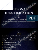Fingerprint Identification-Latest Scribd
