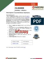 Toner original para Kyocera Document Solutions FS 4020DN