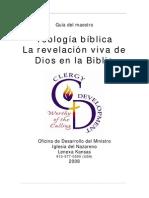 Teologia Biblica Revelacion Viva