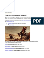 Top 100 Books by Guardian