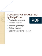 Concepts of Marketing by Philip Kotler