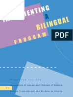Implementing a Bilingual Program
