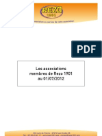 Liste Des Associations Juin 2012