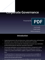 essay corporate governance and finance corporate governance  corporate governance ppt